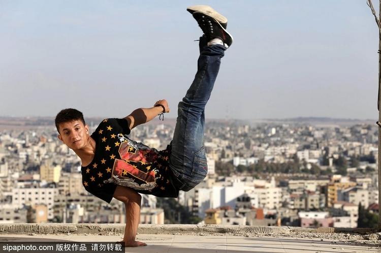巴勒斯坦青年的跑酷梦-跑酷街