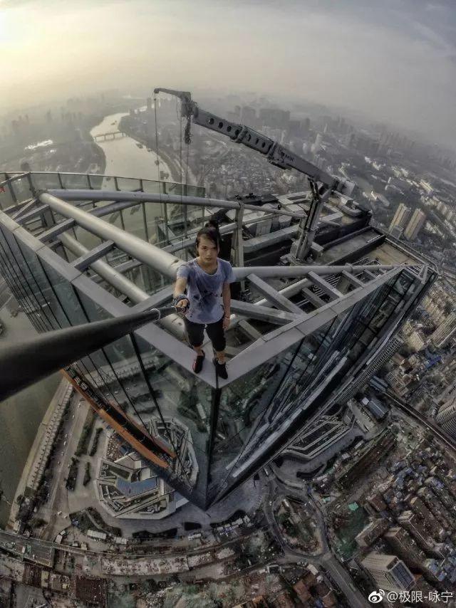 追念国内高空挑战第一人 极限-咏宁-跑酷街