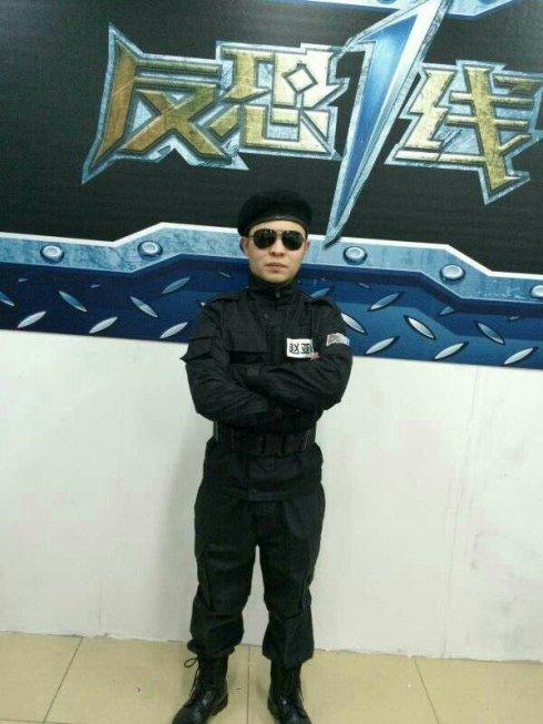 跑酷达人参赛中国首档反恐真人秀节目《反恐一线》-跑酷街